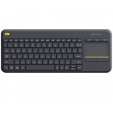 Клавіатура бездротова Logitech K400 Plus Black