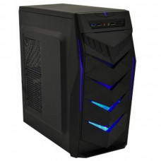 Корпус Frontier Jumbo Middletower c БП ATX / mATX чорний / синій