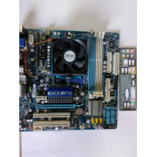 Комплект Gigabyte GA-MA785GMT-UD2H + CPU AMD Athlon II X4 620 4X2.6GHz AM2+,AM3