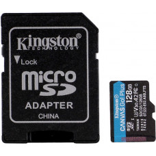 Kingston 128GB microSDXC Canvas Go Plus 170R A2 U3 V30 Card