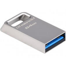 USB флешка Kingston DataTraveler Micro 3.1 32Gb USB 3.1 Metal