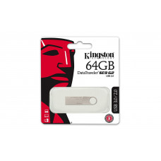 USB 3.0 KINGSTON DTSE9 G2 64GB Metal Silver (DTSE9G2/64GB)