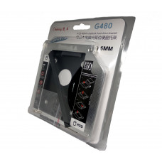 "HDD CADDY 9,5mm SATA 3.0 2,5"" OptiBay Chuking G480"