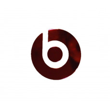 Наклейка Beats Audio Logo Red (big)