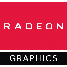Наклейка Radeon Graphics red