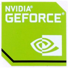 Наклейка nVIDIA GeForce Green