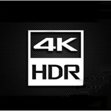 Наклейка 4K HDR Silver Chrome (metal)