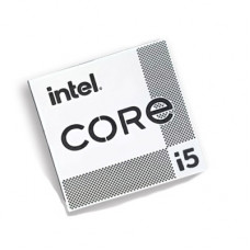 Наклейка Intel Core i5 11th Gen Silver Chrome (metal)