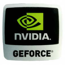Наклейка nVIDIA GEFORCE