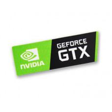 Наклейка nVIDIA GeForce GTX 35x12mm