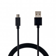 Кабель Grand-X MicroUSB 2,1 A 1m Black, PM01B